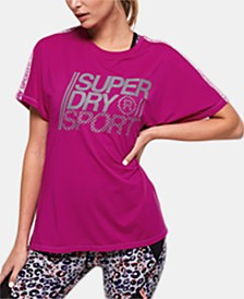Superdry Loose-Fit Logo Graphic T-Shirt