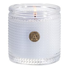 Aromatique Viola Driftwood Textured Glass Candle