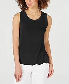 Sleeveless Zigzag Sweater, Created for Macy's