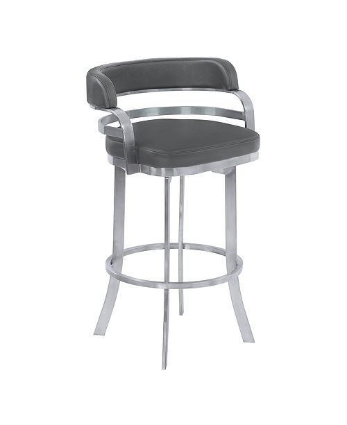 "Armen Living Prinz 26"" Swivel Counter Stool"