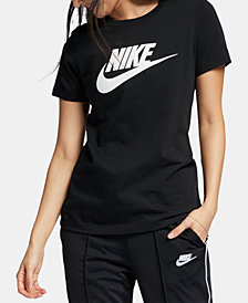 Nike Women's Sportswear Cotton Logo T-Shirt