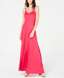 I.N.C. Scoop-Neck Maxi Dress, Created for Macy's