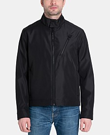 Michael Kors Men's Racer Moto Jacket, Created for Macy's