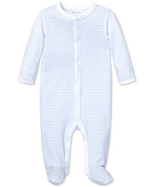 Polo Ralph Lauren Baby Boys Anchor-Print Cotton Coverall