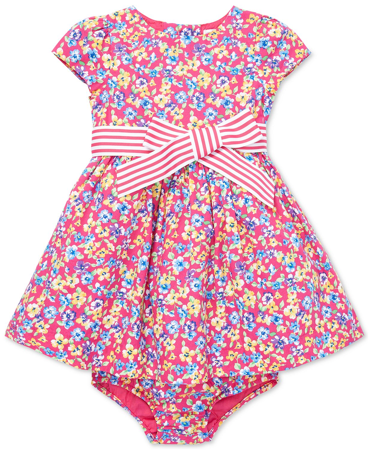7dd33b89a2fe This infant Easter dress for a baby girl has an allover floral print that  is beautiful