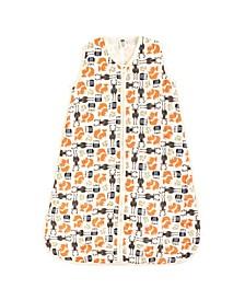 Baby Unisex Hudson Baby Baby Safe Sleep Wearable Muslin Sleeping Bag, 1-Pack