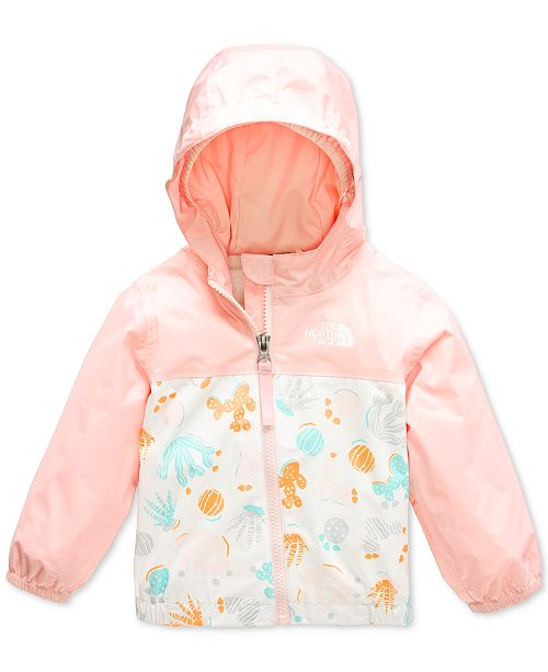 The North Face Baby Girls Hooded Rain Jacket