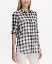 5f1d2dd6e8e Gingham Shirt  Shop Gingham Shirt - Macy s