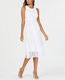 Petite Lace Midi Dress, Created for Macy's