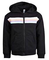 90ee64c07 Ideology Little Girls Striped Zip-Up Hoodie, Created for Macy's