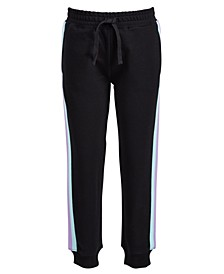 Little Girls Side-Striped Jogger Pants, Created for Macy's