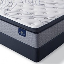 "Serta Perfect Sleeper Kleinmon II 13.75"" Firm Pillow Top Mattress Set - Queen Split"