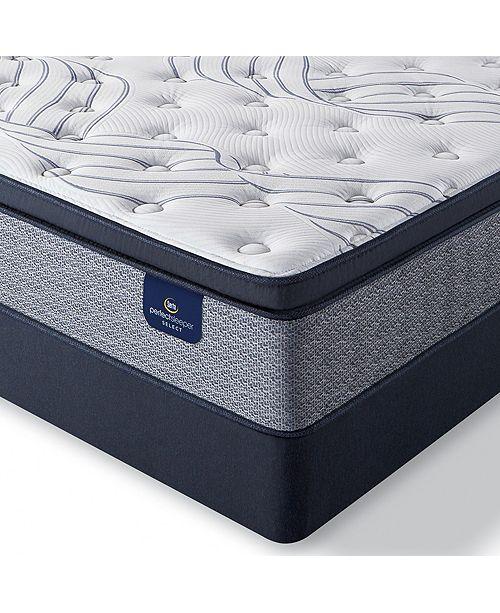 """Serta Perfect Sleeper Kleinmon II 13.75"""" Firm Pillow Top Mattress Set - Twin XL"""