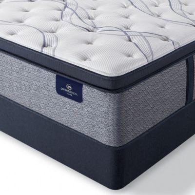 """Perfect Sleeper Trelleburg II 14.75"""" Firm Pillow Top Mattress Set - Twin"""