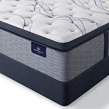 "Serta Perfect Sleeper Trelleburg II 14.75"" Firm Pillow Top Mattress Set - Queen Split"