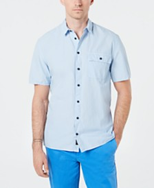 DKNY Men's Camp Shirt