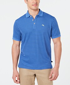 Tommy Bahama Men's Tidal Stripe Island Zone Polo