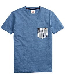 Brooks Brothers Red Fleece Men's Contrast Pocket T-Shirt
