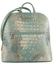 Brahmin Felicity Serendipity Melbourne Embossed Leather Backpack