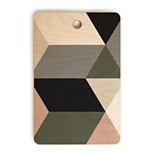 Deny Designs Quatro Rectangle Cutting Board