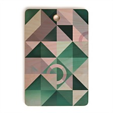 Deny Designs Connection Rectangle Cutting Board