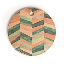 Upward Holistic Round Cutting Board