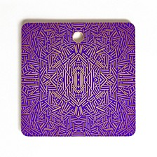 Radiate Gold Royal Square Cutting Board
