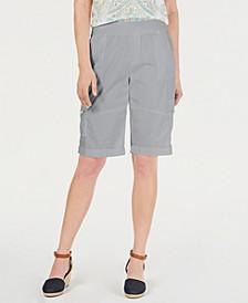 Petite Comfort-Waist Bermuda Shorts, Created by Macy's