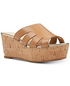 Nine West Victoria Platform Wedge Sandals