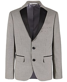 Big Boys Stretch Houndstooth Dinner Jacket