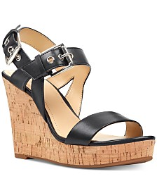 Nine West Scarlett Platform Wedge Sandals