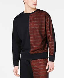 A|X Armani Exchange Men's Logo Graphic Sweatshirt
