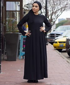 Verona Collection Pleated Maxi Dress