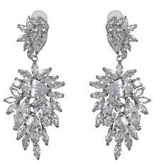 Nina Crystal Cluster Earrings
