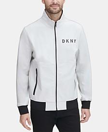 Men's Logo Graphic Bomber Jacket, Created for Macy's
