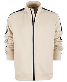Big Boys Striped Sleeve Active Jacket, Created for Macy's