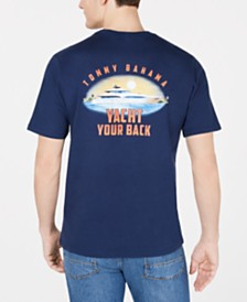 Tommy Bahama Men's Yacht Your Back Logo Graphic T-Shirt