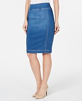 e7372290b2 Thalia Sodi Denim Pencil Skirt, Created for Macy's