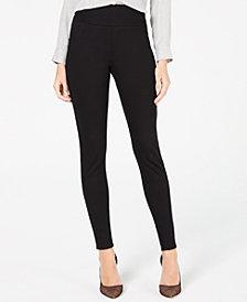 I.N.C. Ponté Knit Skinny Pants, Created for Macy's