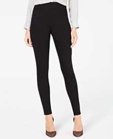 I.N.C. Ponté Knit Skinny Pants, Created for Macy's