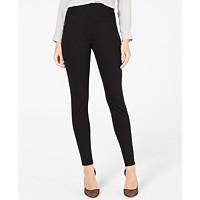 I.N.C. Ponte Knit Skinny Pants (Deep Black)