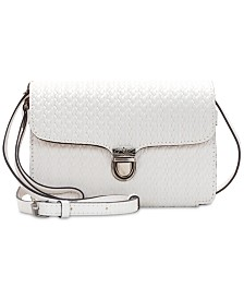Patricia Nash Bianco Woven Leather Crossbody