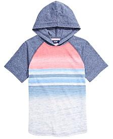 Univibe Big Boys Roman Colorblocked Stripe Hooded T-Shirt