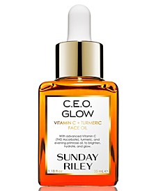 C.E.O. Glow Vitamin C + Turmeric Face Oil, 1.18-oz.