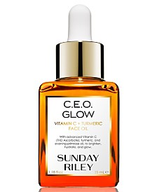 Sunday Riley C.E.O. Glow Vitamin C + Turmeric Face Oil, 1.18-oz.