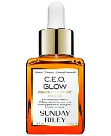 Sunday Riley C.E.O. Glow Vitamin C + Turmeric Face Oil, 1.18-oz.
