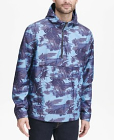 Levi's® Men's Water-Resistant Palm-Print 1/2-Zip Jacket