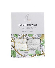 Two-Pack Muslin Cloths