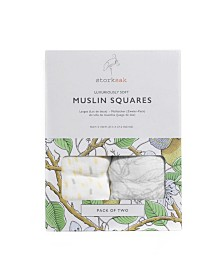 Storksak Two-Pack Muslin Cloths