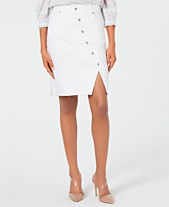 aea488df9 I.N.C. Button-Front Jean Skirt, Created for Macy's